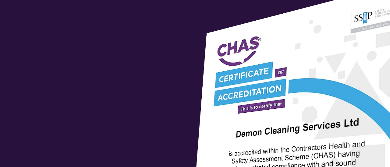 CHAS Accreditation Achieved